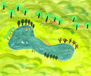 ギャラリーコトリ20060114 りゅうたん池