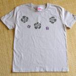型染めTシャツ ローズ