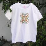 型染めTシャツ ウクレレとマイレリーフ