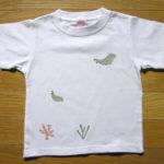 型染めTシャツ ジュゴンの海