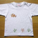 型染めTシャツ カクレクマノミ
