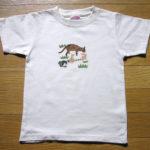 型染めTシャツ ネコマーマー