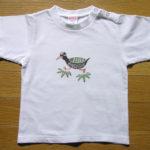 型染めTシャツ ヤンバルクイナ